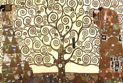 Gustav Klimt (The Tree Of Life) Art Poster Print by Gustav Klimt
