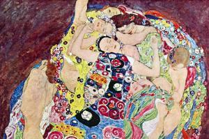 Gustav Klimt Virgins by Gustav Klimt