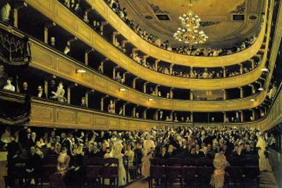 Hall by Gustav Klimt