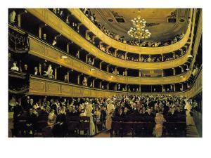 Hall by Gustav Klimt