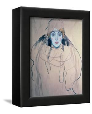Head of a Woman by Gustav Klimt