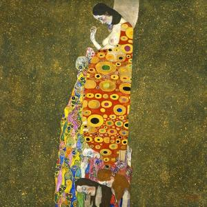 Hope II, 1907-1908 by Gustav Klimt