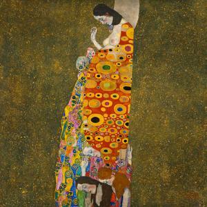 Hope II by Gustav Klimt