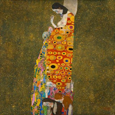 Hope II by Gustav Klimt