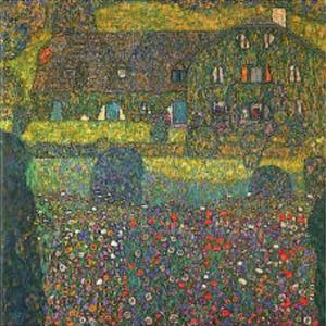 House in Attersee by Gustav Klimt