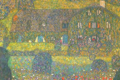House in Attersee by Gustav Klimt
