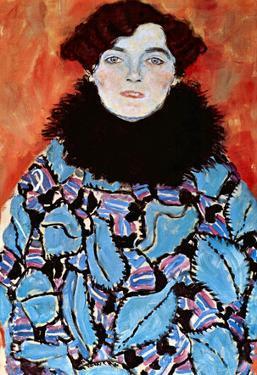 Gustav Klimt Johanna Staude Art Print Poster