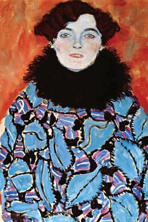 Johanna Staude by Gustav Klimt