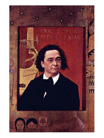 Joseph Pembauer by Gustav Klimt