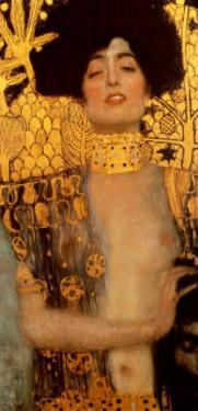 Judith I by Gustav Klimt