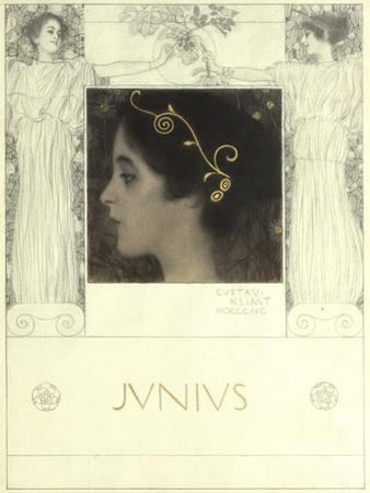 Junius, 1896 by Gustav Klimt