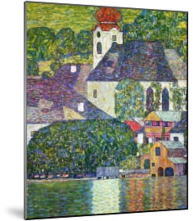 Kirche in Unterach Am Attersee, Church in Unterach on Attersee by Gustav Klimt