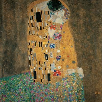 Kiss by Gustav Klimt