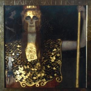 Klimt: Pallas Athena, 1898 by Gustav Klimt