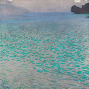 Lake Attersee, 1901 by Gustav Klimt
