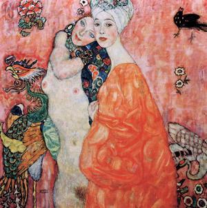 Le Amiche by Gustav Klimt