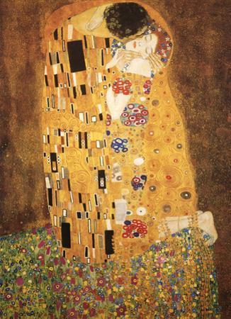 Le Baiser - The Kiss by Gustav Klimt