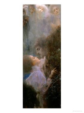Liebe (Love), 1895 by Gustav Klimt