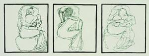 Love Couples, c.1903 by Gustav Klimt
