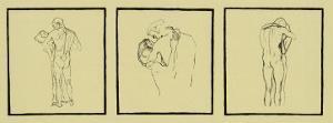 Love Couples, c.1905 by Gustav Klimt