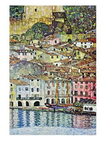 Malcena At The Gardasee by Gustav Klimt