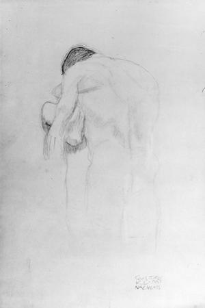 Man and Woman, Study for 'Beethovenfries', 1902 by Gustav Klimt