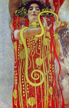 Medicine, Part of the Ceiling Fresco for the Vienna University, 1900/07 by Gustav Klimt