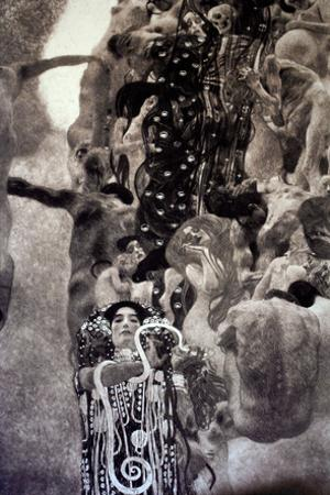 Gustav Klimt Medicine Print Poster