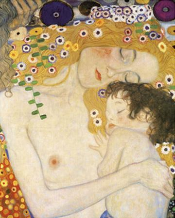 Mother and Child (detail from The Three Ages of Woman), c. 1905 by Gustav Klimt