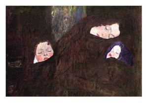 Mother with Children by Gustav Klimt