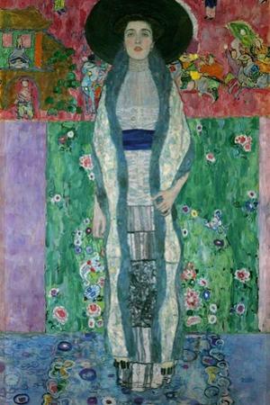 Mrs. Adele Bloch-Bauer II Oil on canvas. by Gustav Klimt