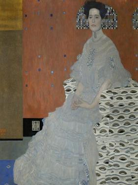 Mrs. Fritza Riedler (1906) by Gustav Klimt