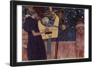 Gustav Klimt (Music) Art Poster Print