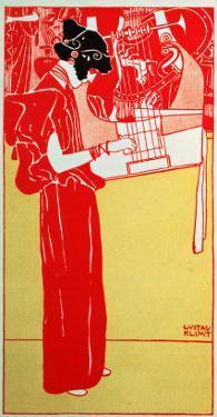 Musik by Gustav Klimt