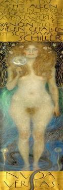 Nuda Veritas, 1899 by Gustav Klimt