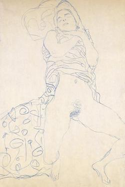 Nude; Halbakt, 1913 (Nude; Halbakt Gustav Klimt (1862-1918)) by Gustav Klimt