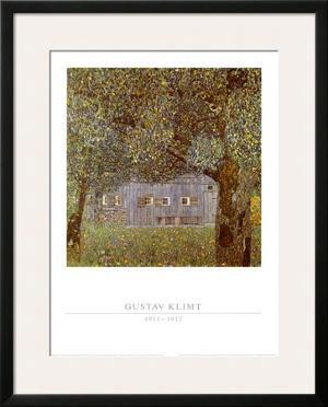 Oberosterreichisches Bauernhaus, 1911-12 by Gustav Klimt