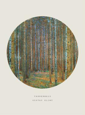 Old Masters, New Circles: Tannenwald (Pine Forest), c.1902 by Gustav Klimt