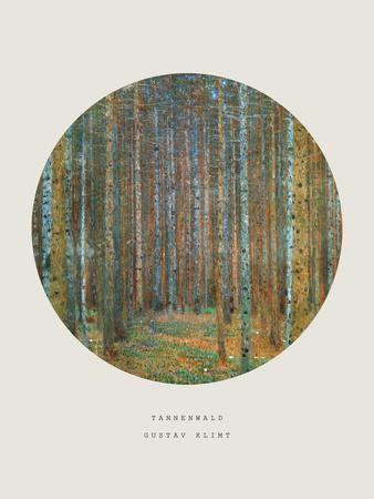 Old Masters, New Circles: Tannenwald (Pine Forest), c.1902