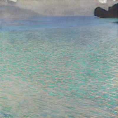 On Lake Attersee, 1900 by Gustav Klimt