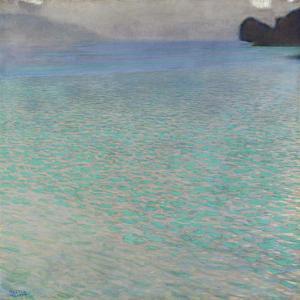 On Lake Attersee, 1900 by Gustav Klimt