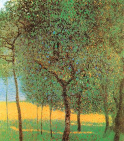 Orchard by Gustav Klimt