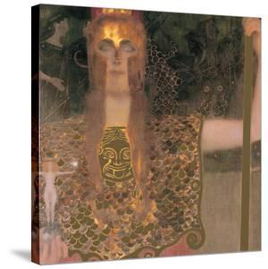 Pallas Athene, 1898 by Gustav Klimt