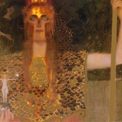 Pallas Athene, c.1898 by Gustav Klimt