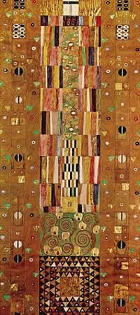 Pattern for the Stoclet Frieze, c.1905/06 End Wall by Gustav Klimt