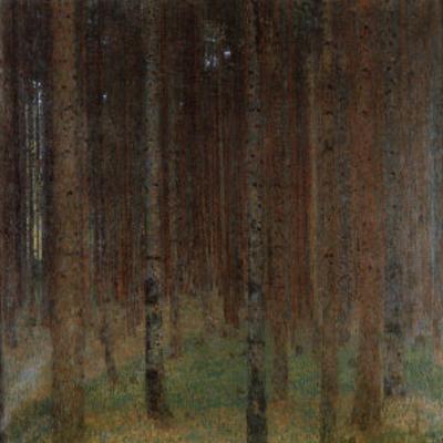 Pine Forest by Gustav Klimt