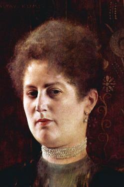 Portrait of a Woman by Gustav Klimt