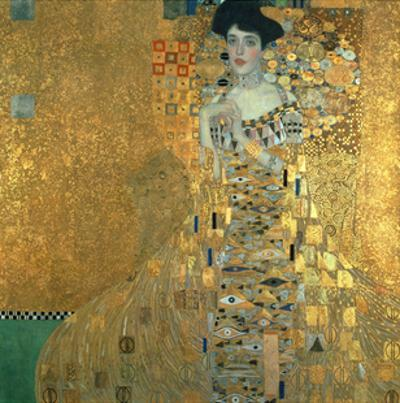 Portrait of Adele Bloch-Bauer I., 1907 by Gustav Klimt