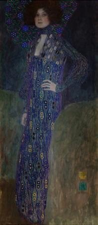 Portrait of Emilie Flöge, 1902 by Gustav Klimt