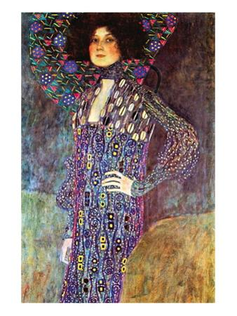 Portrait of Emily Fidge by Gustav Klimt